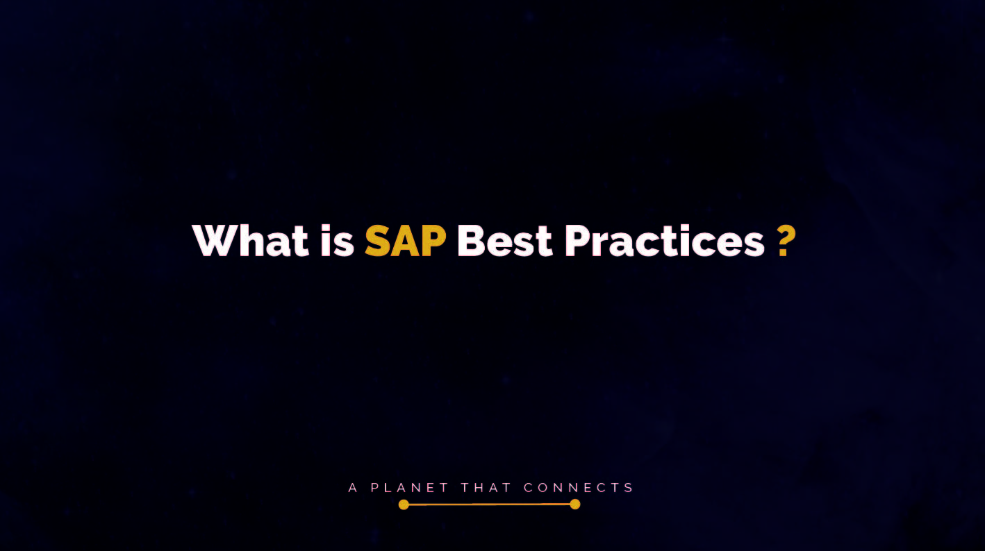 What is SAP Best Practices